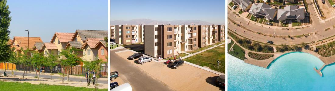 Casas, departamentos, Barrio con Laguna Cristalina